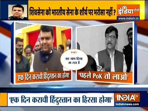 Karachi will be part of India one day: Devendra Fadnavis