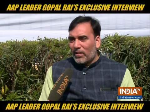 AAP विधायक गोपाल राय ने कहा कि हमने दिल्ली के लोगों के लिए पिछले 5 वर्षों में बहुत कुछ किया और आगे भी करते रहेंगे