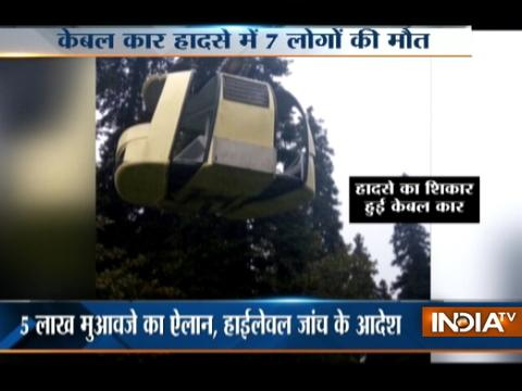 J&K: 7 including Delhi family killed as tree falls on cable car in Gulmarg