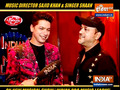 Sajid Khan and Singer Shaan on musical show 'Indian Pro Music League'