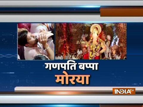 गणपति विसर्जन को लेकर पूरे महाराष्ट्र में कड़ी सुरक्षा, विसर्जन के लिए 162 स्थल बनाये गए
