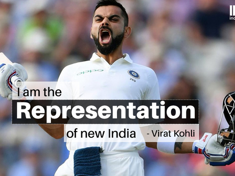 AUS vs IND: Virat Kohli says he's the representation of new India