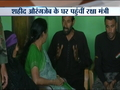 Defence Minister Nirmala Sitharaman meets the family of martyr Sepoy Aurangzeb