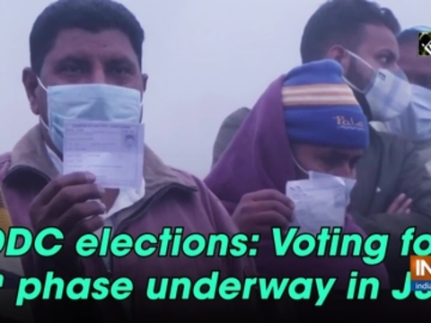 DDC elections: Voting for 6th phase underway in J&K