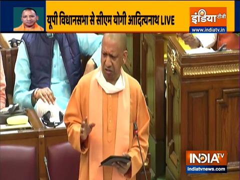 Watch: CM Yogi Adityanath addresses Uttar Pradesh State Assembly