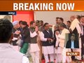 Rahul Gandhi, Manmohan Singh arrives in Jaipur to take part into oath ceremony of Ashok Gehlot