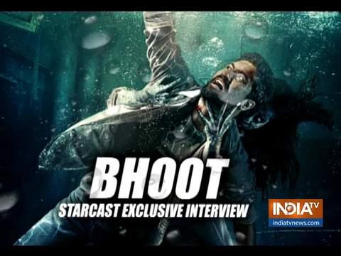 विक्की कौशल ने अपकमिंग फिल्म 'भूत : पार्ट वन हॉन्टेड शिप' के बारे में इंडिया टीवी से की खास बातचीत