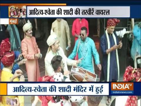 Aditya Narayan marries long-time girlfriend Shweta Agarwal