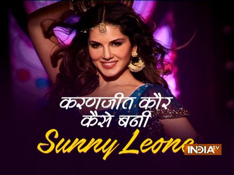 Sunny Leone on biopic Karenjit Kaur: The Untold Story of Sunny Leone