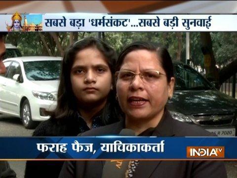 Babri Masjid-Ram Mandir case: Muslim woman advocate Farah Faiz files fresh petition