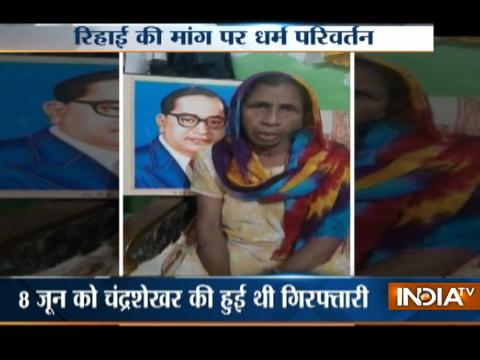 Saharanpur violence: Chandra Shekhar 's mother to lead protest on 18 June at Delhi's Jantar Mantar