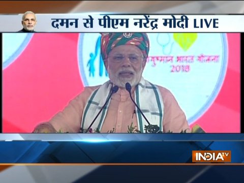Daman has become mini-India says PM Narendra Modi
