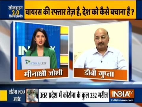 राजस्थान के मुख्य सचिव डीबी गुप्ता ने इंडिया टीवी से कोरोनोवायरस के बढ़ रहे मामलो पर की बातचीत