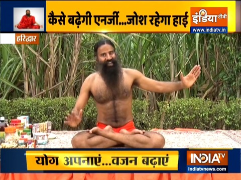 Metabolism of the body should be good to gain weight: Swami Ramdev