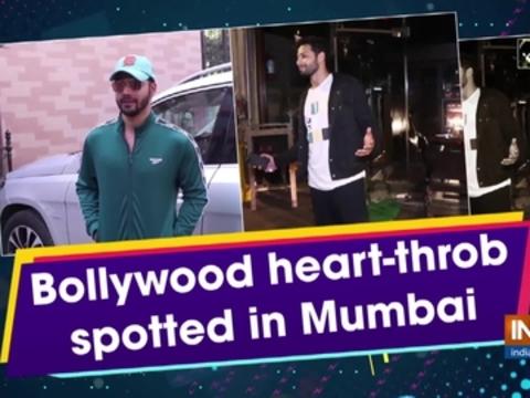 Bollywood heart-throb spotted in Mumbai