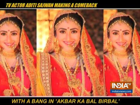 Actress Aditi Sajwan returning to TV with serial 'Akbar Ka Bal Birbal'