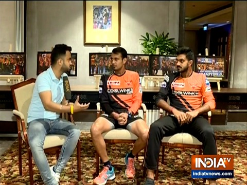 SRH are like a family, we are prepared to take on Delhi, says Vijay Shankar and Siddarth Kaul