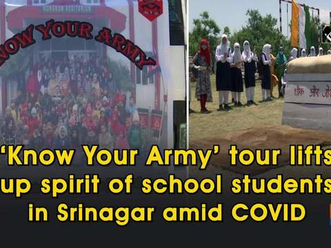 'Know Your Army' tour lifts up spirit of school students in Srinagar amid COVID