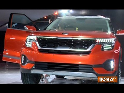ऑटो एक्सपो 2018: किया मोटर्स ने भारतीय बाज़ार में रखा कदम