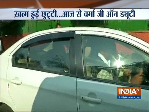 CBI निदेशक आलोक वर्मा ने 76 दिनों के बाद फिर से संभाला कार्यभार