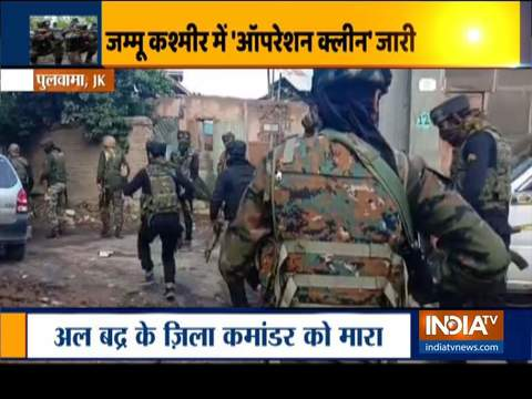 Encounter breaks out in Pulwama's Zadoora area in Jammu and Kashmir