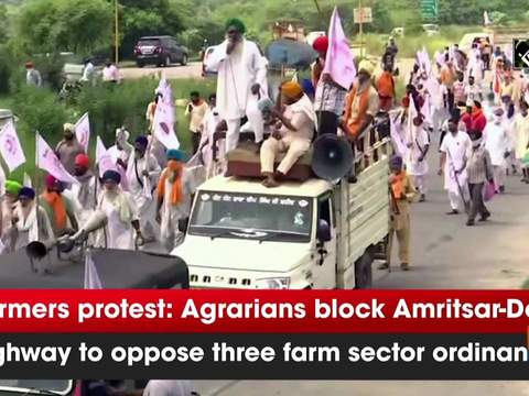 Farmers protest: Agrarians block Amritsar-Delhi highway to oppose three farm sector ordinances