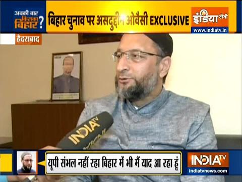 Bihar Election 2020: BJP wants its own CM, not Nitish Kumar, says Owaisi