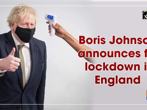 Boris Johnson announces full lockdown in England