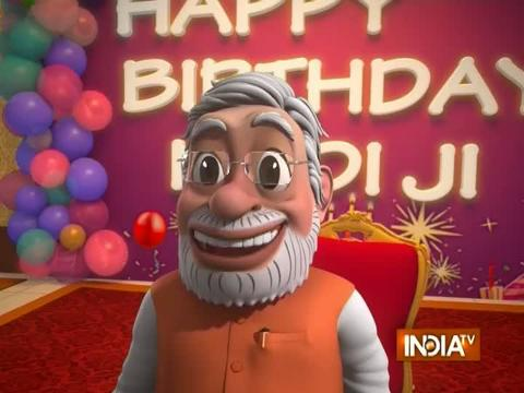 OMG: Happy 68th Birthday Modi Ji!