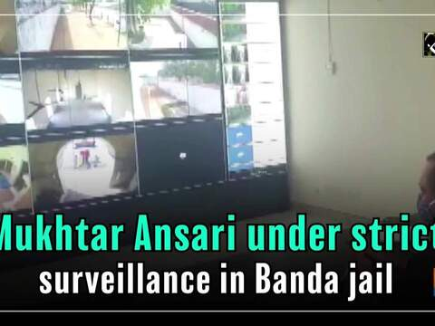 Mukhtar Ansari under strict surveillance in Banda jail