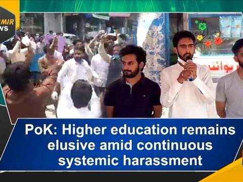 PoK: Higher education remains elusive amid continuous systemic harassment
