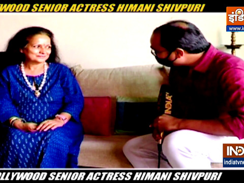 Actress Himani Shivpuri speaks about COVID-19 pandemic