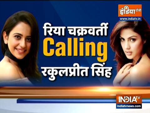 रिया चक्रवर्ती ने रकुल प्रीत सिंह को किए थे 30 कॉल