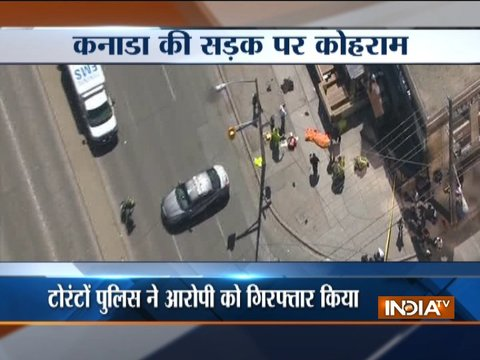 Canada: 9 killed, 16 injured as truck drives into pedestrians in Toronto; driver held