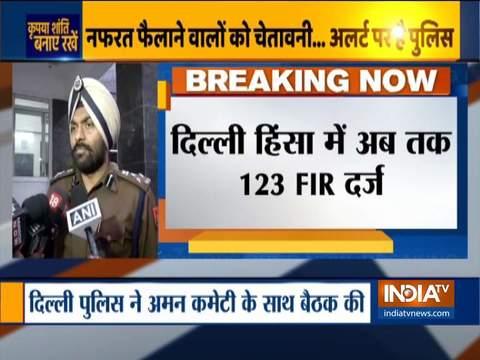 दिल्ली हिंसा: हमने अब तक 123 FIR दर्ज की हैं- एमएस रंधावा