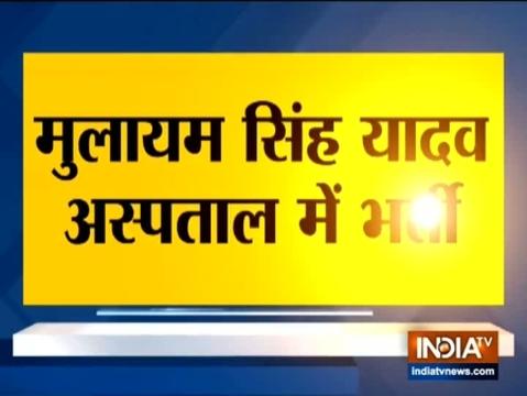 Mulayam Singh Yadav admitted to hospital
