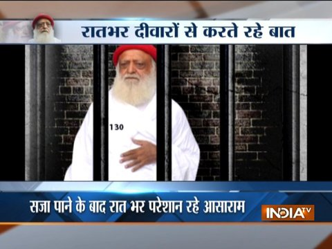 Asaram convicted for raping minor schoolgirl inside his ashram, to spend rest of his life in jail