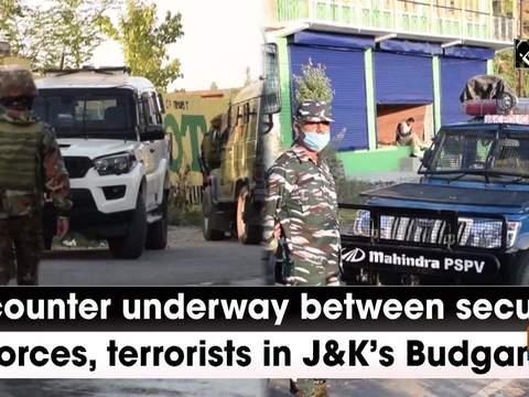 Encounter underway between security forces, terrorists in J-K's Budgam