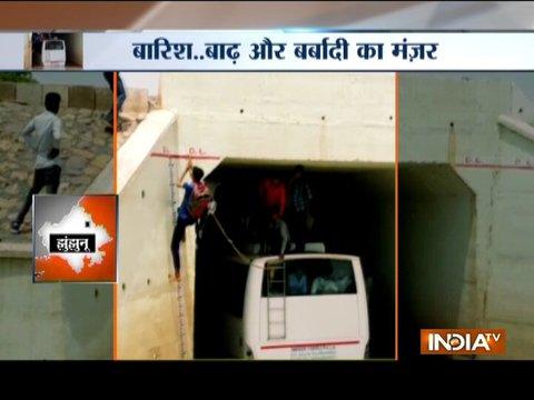 Floods wreak havoc in parts of Rajasthan and Gujarat