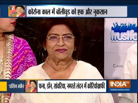 Ace Bollywood choreographer Saroj Khan dies of cardiac arrest