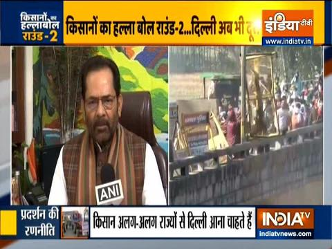 Farmers protest: Door for talks always open, says Mukhtar Abbas Naqvi