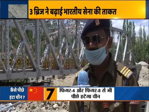 बीआरओ द्वारा बनाए तीन नए पुल भारतीय सेना को पूर्वी लद्दाख सीमा तक टैंक ले जाने में मिली मदद