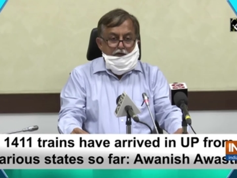 1411 trains have arrived in UP from various states so far: Awanish Awasthi