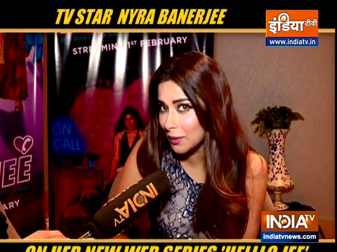 Actor Nyra Banerjee talks about her web series 'Helllo Jee'