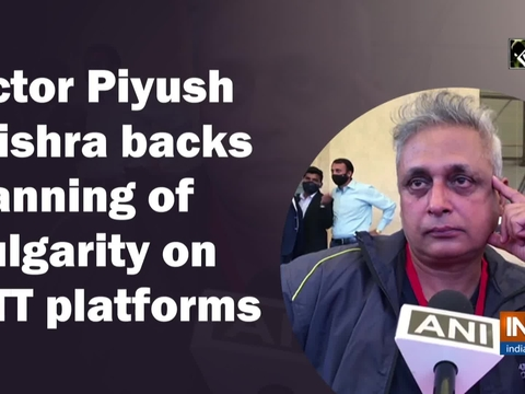 Actor Piyush Mishra backs banning of vulgarity on OTT platforms