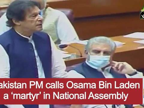 Pakistan PM calls Osama Bin Laden a 'martyr' in National Assembly