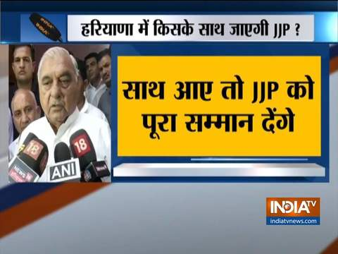 Already have job reservation, pension in Congress manifesto, says BS Hooda on JJP Chief Dushyant's demands