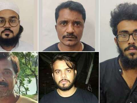 दिल्ली पुलिस ने आतंकी हमले की साजिश रच रहे छह आतंकियों को किया गिरफ्तार