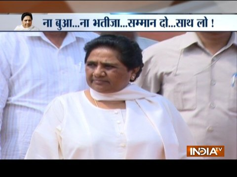 We will agree to alliance in any election only when we get a respectable share of seat: Mayawati