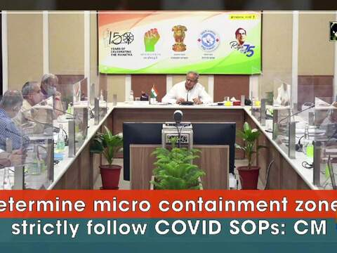 Determine micro containment zones, strictly follow COVID SOPs: CM Gehlot